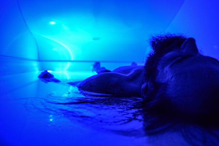 Float Therapy Male Unwind at Westclox
